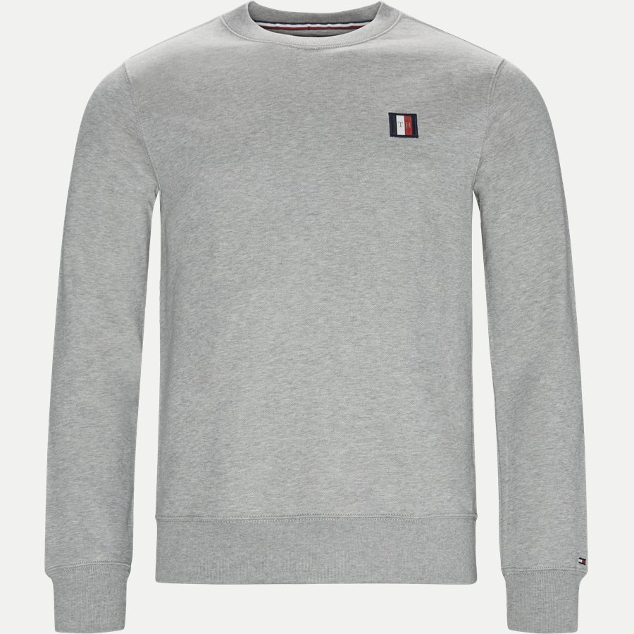 ICON MINI BADGE SWEATSHIRT - Icon Mini Badge Sweatshirt - Sweatshirts - Regular - GRÅ - 1