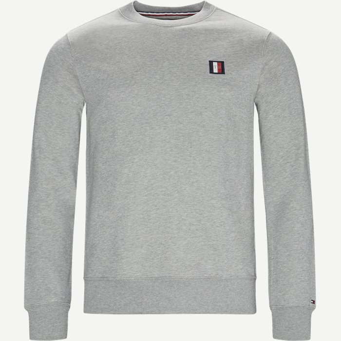 Icon Mini Badge Sweatshirt - Sweatshirts - Regular - Grå