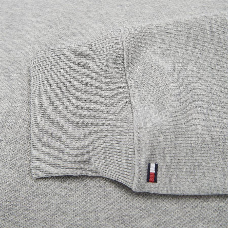ICON MINI BADGE SWEATSHIRT - Icon Mini Badge Sweatshirt - Sweatshirts - Regular - GRÅ - 3