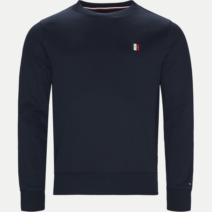 ICON MINI BADGE SWEATSHIRT - Icon Mini Badge Sweatshirt - Sweatshirts - Regular - NAVY - 1