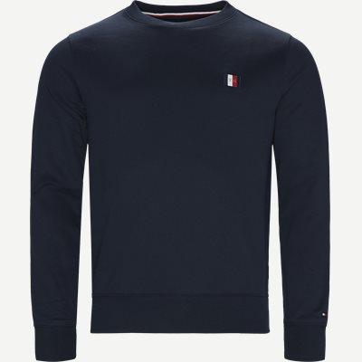 Icon Mini Badge Sweatshirt Regular | Icon Mini Badge Sweatshirt | Blå