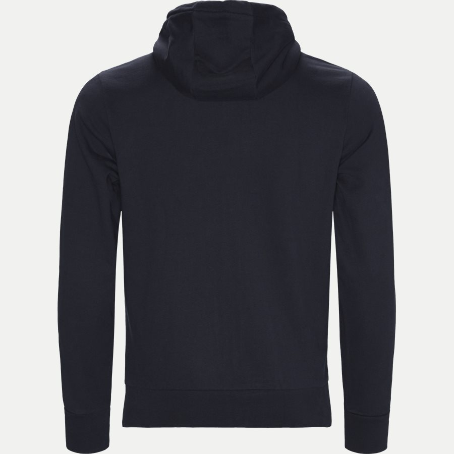 TOMMY LOGO ZIP HOODY - Logo Zip Hoodie - Sweatshirts - Regular - NAVY - 2