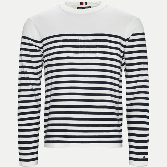 Relaxed Fit Embossed STP Sweater Strik