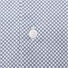 SLIM COTTON LINEN PRINTED SHIRT - Slim Cotton Linen Printed Shirt - Skjorter - Slim - BLÅ - 5