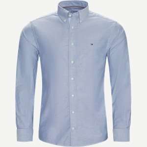 Organic Oxford Shirt Skjorte Regular | Organic Oxford Shirt Skjorte | Blå