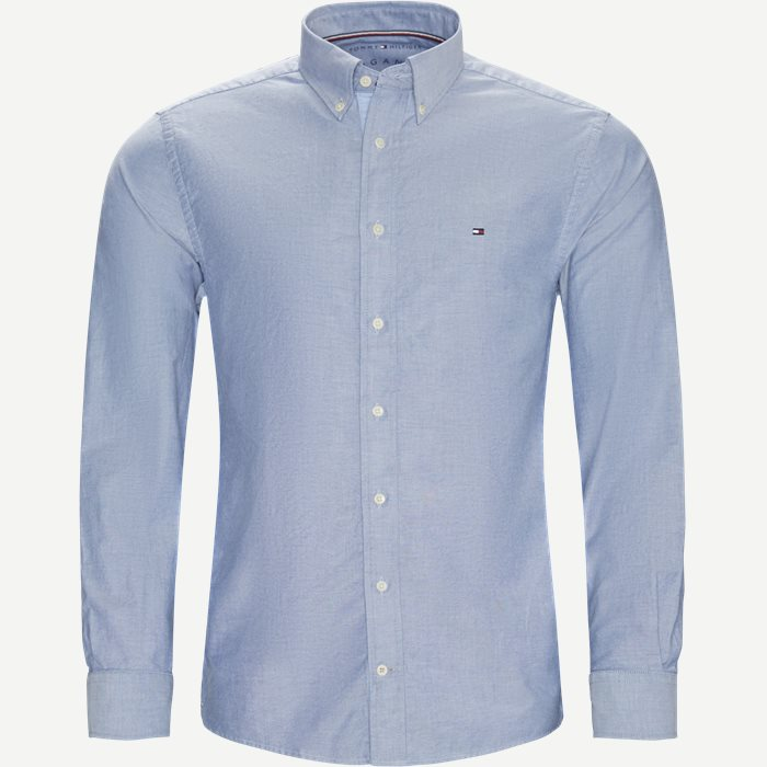 Organic Oxford Shirt Skjorte - Skjorter - Regular - Blå