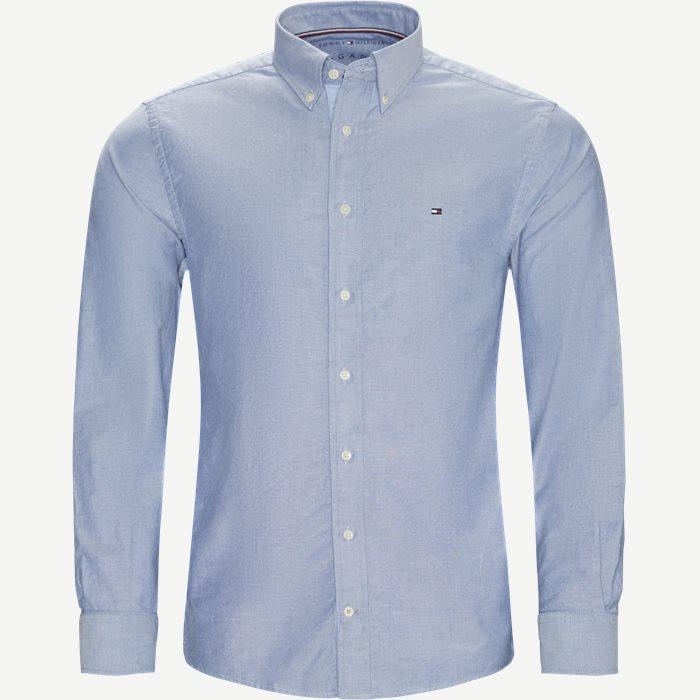 1a635b2c Organic Oxford Shirt Skjorte - Skjorter - Regular - Blå. Tommy Hilfiger