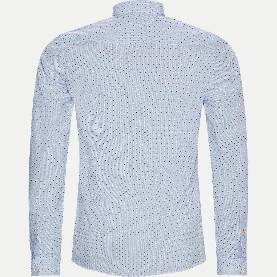 SLIM MICRO PRINT SHIRT - Slim Micro Print Shirt Skjorte - Skjorter - Slim - BLÅ - 2