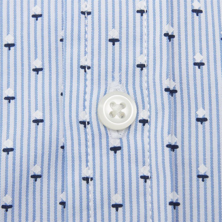 SLIM MICRO PRINT SHIRT - Slim Micro Print Shirt Skjorte - Skjorter - Slim - BLÅ - 3