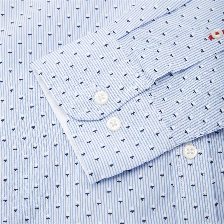 SLIM MICRO PRINT SHIRT - Slim Micro Print Shirt Skjorte - Skjorter - Slim - BLÅ - 4