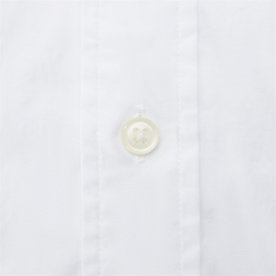 STRETCH POPLIN SHIRT S/S - Stretch Poplin Shirt S/S Kortærmetskjorte - Skjorter - Regular - HVID - 5