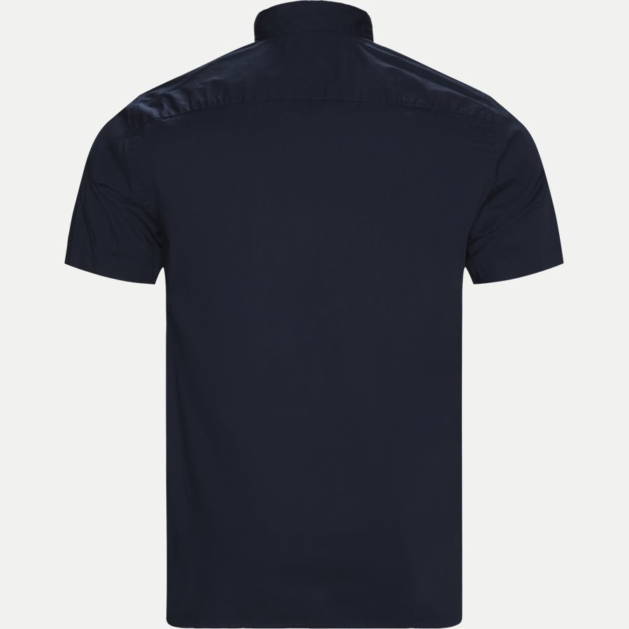STRETCH POPLIN SHIRT S/S - Stretch Poplin Shirt S/S Kortærmetskjorte - Skjorter - Regular - NAVY - 2