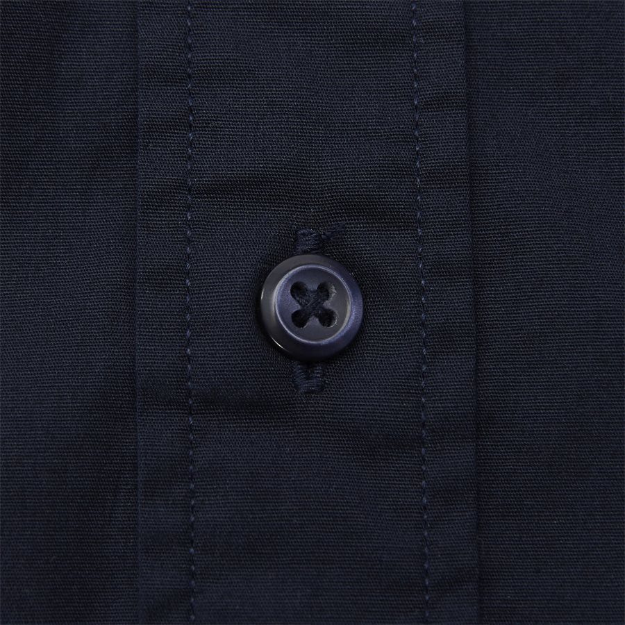 STRETCH POPLIN SHIRT S/S - Stretch Poplin Shirt S/S Kortærmetskjorte - Skjorter - Regular - NAVY - 4