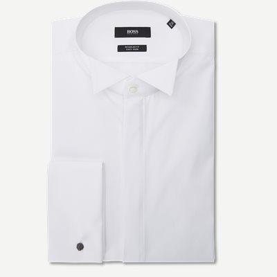 Gewen Smoking Skjorte Regular   Gewen Smoking Skjorte   Hvid