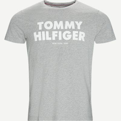 Tommy Hilfiger Tee Regular | Tommy Hilfiger Tee | Grå
