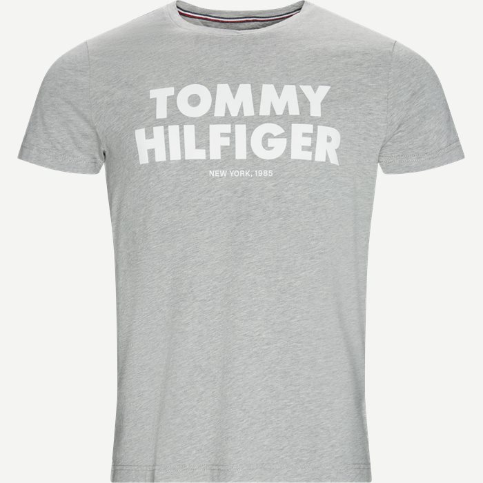 Tommy Hilfiger Tee - T-shirts - Regular - Grå