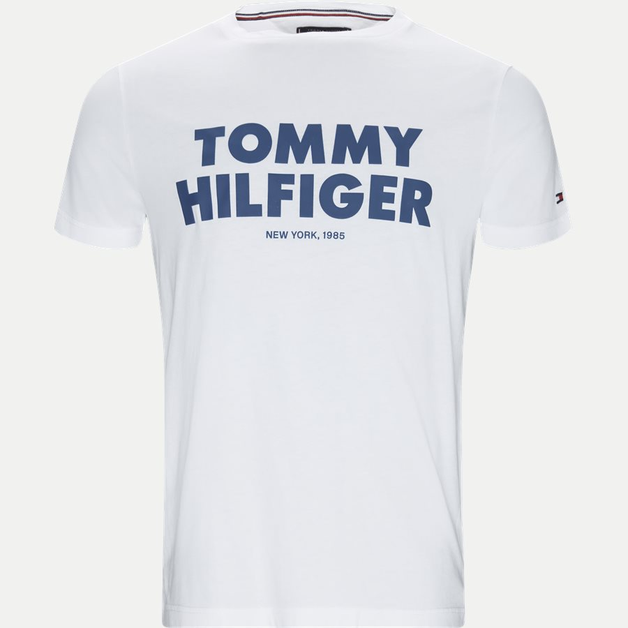 TOMMY HILFIGER TEE - T-shirts - Regular - HVID - 1
