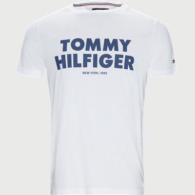 Tommy Hilfiger Tee Regular | Tommy Hilfiger Tee | Hvid