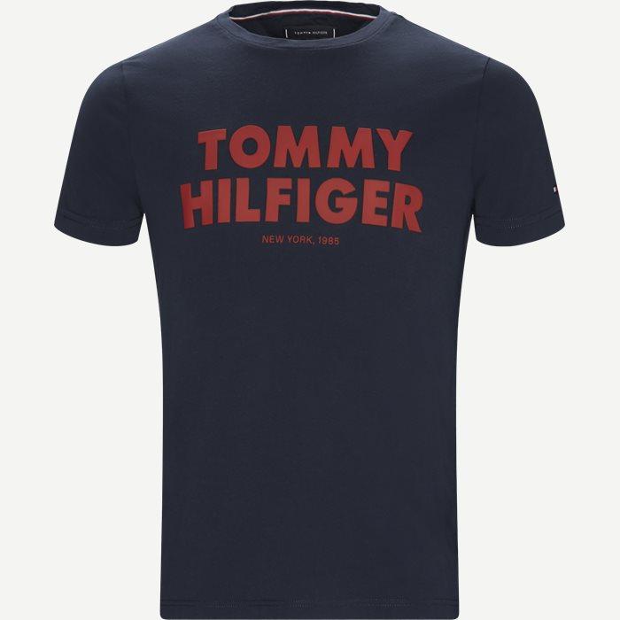 Tommy Hilfiger Tee - T-shirts - Regular - Blå