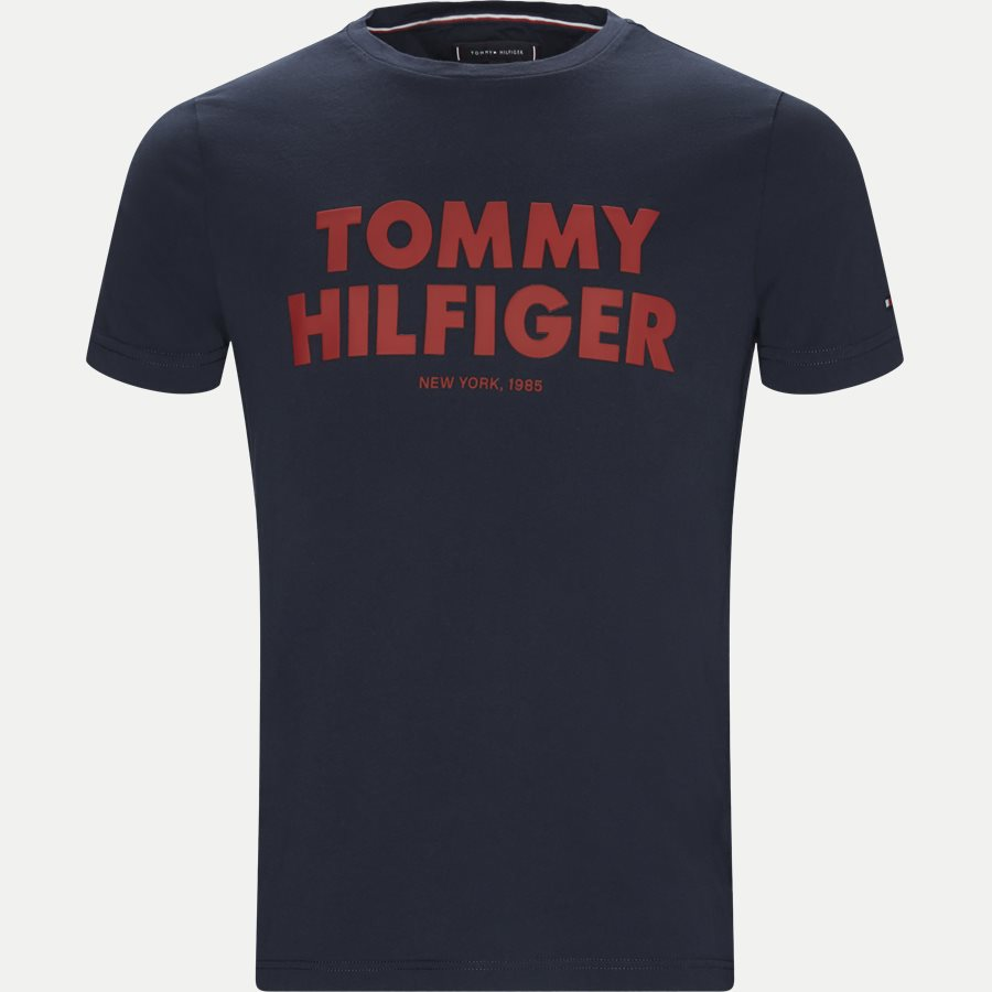 TOMMY HILFIGER TEE - Tommy Hilfiger Tee - T-shirts - Regular - NAVY - 1