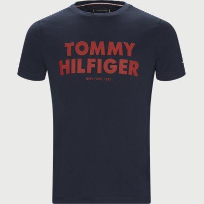 Tommy Hilfiger Tee Regular | Tommy Hilfiger Tee | Blå