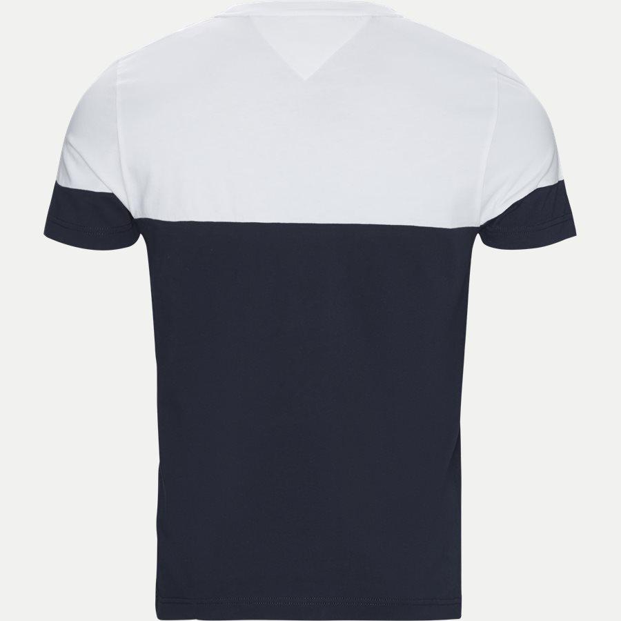 COLOUR BLOCK TEE - Colour Block Tee - T-shirts - Regular - NAVY - 2