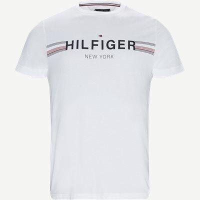 Corp Flag Tee T-shirt Regular | Corp Flag Tee T-shirt | Hvid