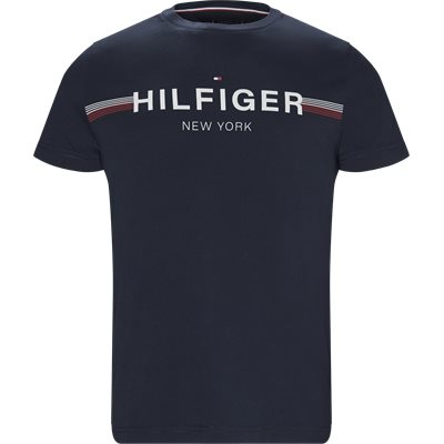 Corp Flag Tee T-shirt Regular | Corp Flag Tee T-shirt | Blå