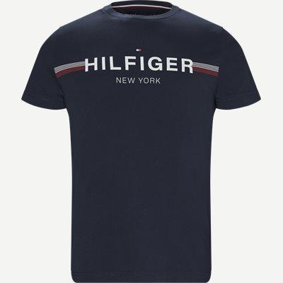 Corp Flag Tee T-shirt Regular | Corp Flag Tee T-shirt | Blå