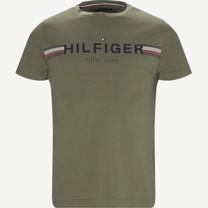 Corp Flag Tee T-shirt - T-shirts - Regular - Army