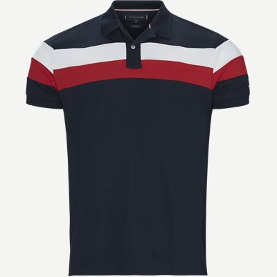 Chest Stripe Regular Polo Regular | Chest Stripe Regular Polo | Blå