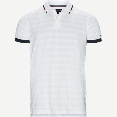 Global Tipped Collar Polo T-Shirt Regular | Global Tipped Collar Polo T-Shirt | Hvid