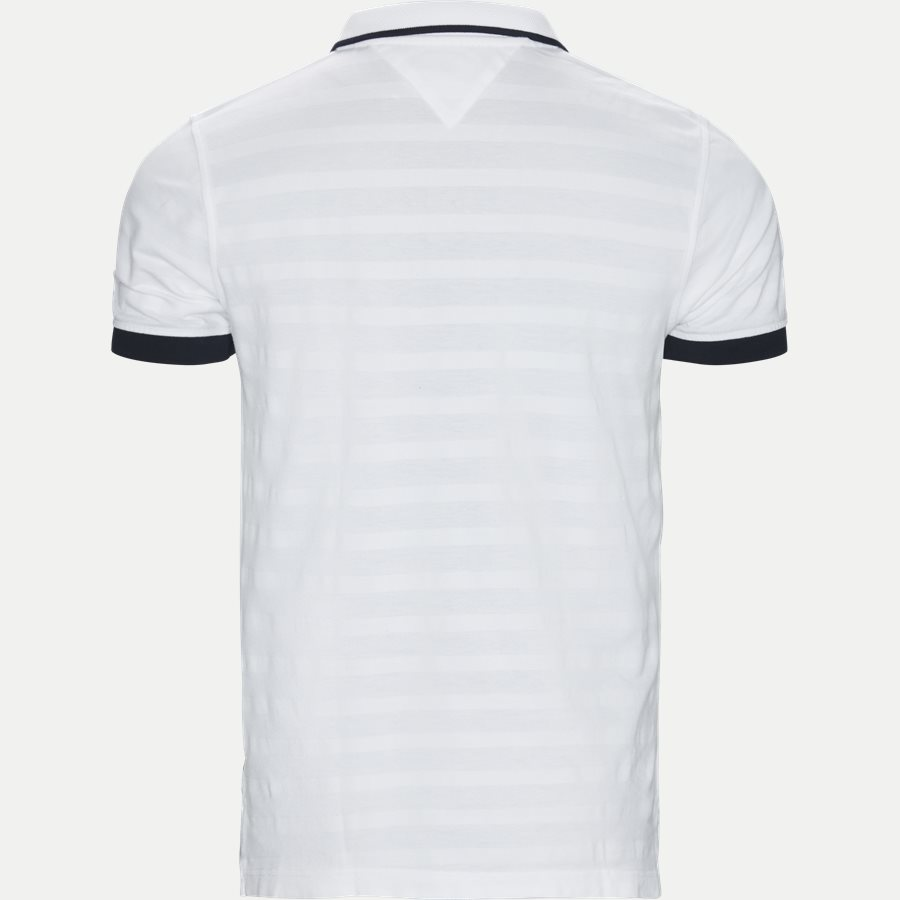 GLOBAL TIPPED COLLAR SLIM POLO - T-shirts - Regular - HVID - 2