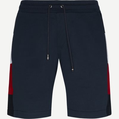 Flag Rib Insert Sweatshort Regular | Flag Rib Insert Sweatshort | Blå