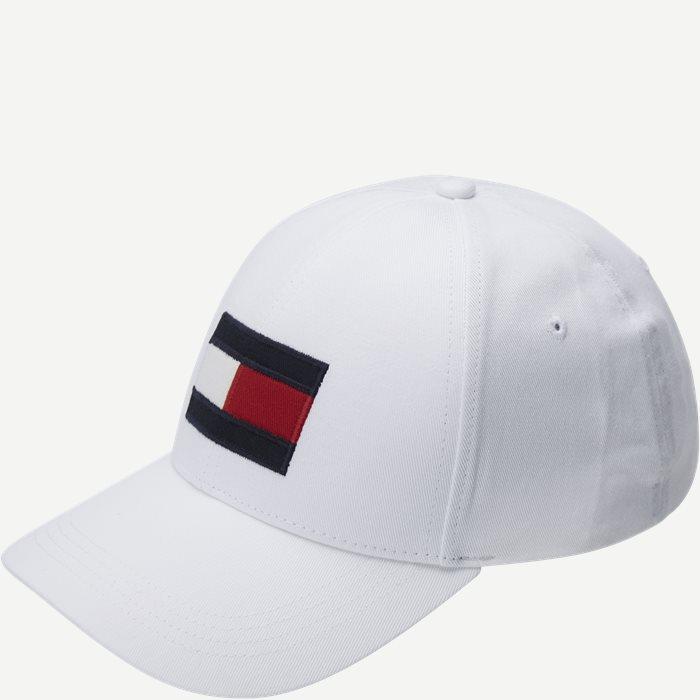 Big Flag Cap - Caps - Hvid