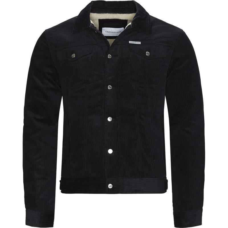 Calvin klein jeans jacket black fra calvin klein jeans på axel.dk
