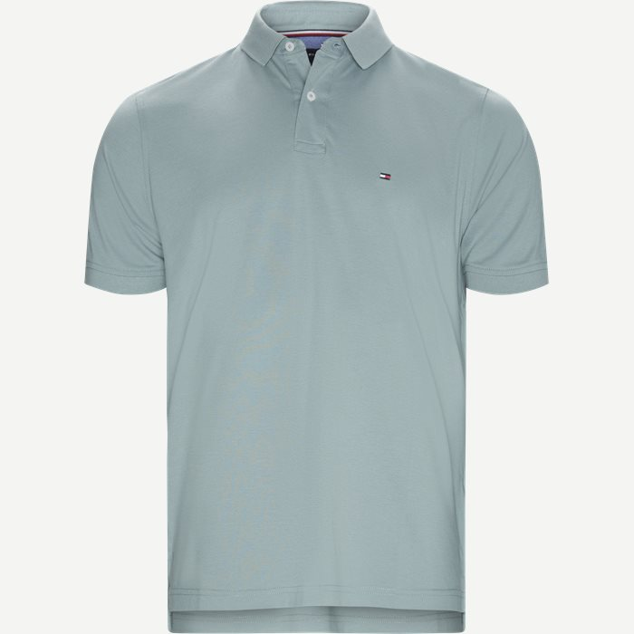 Core Tommy Regular Polo - T-shirts - Regular - Turkis