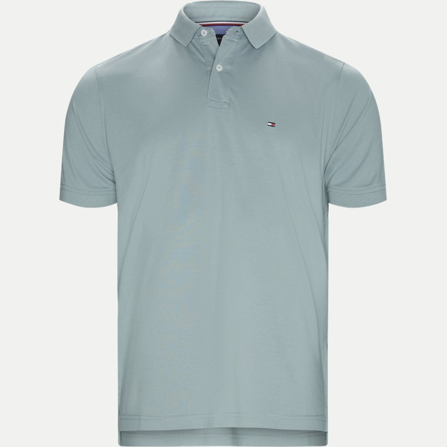 TOMMY REGULAR POLO - Core Tommy Regular Polo - T-shirts - Regular - AQUA - 1