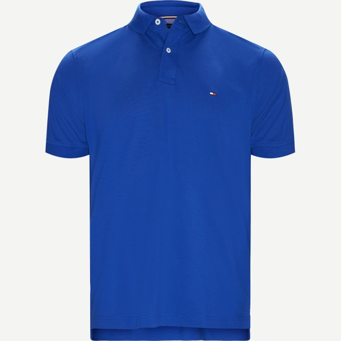 Core Tommy Regular Polo - T-shirts - Regular - Blå