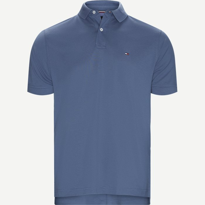 Core Tommy Regular Polo - T-shirts - Regular - Denim