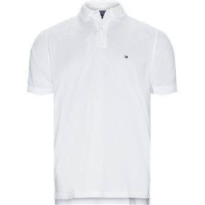 Core Tommy Regular Polo Regular | Core Tommy Regular Polo | Hvid