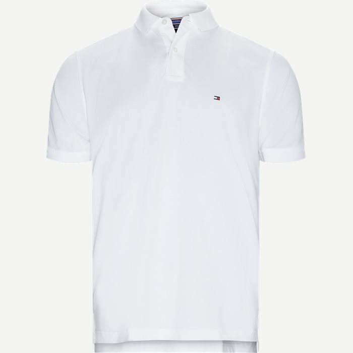 Core Tommy Regular Polo - T-shirts - Regular - Hvid