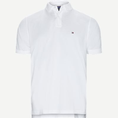 Core Tommy Regular Polo Regular | Core Tommy Regular Polo | Hvid