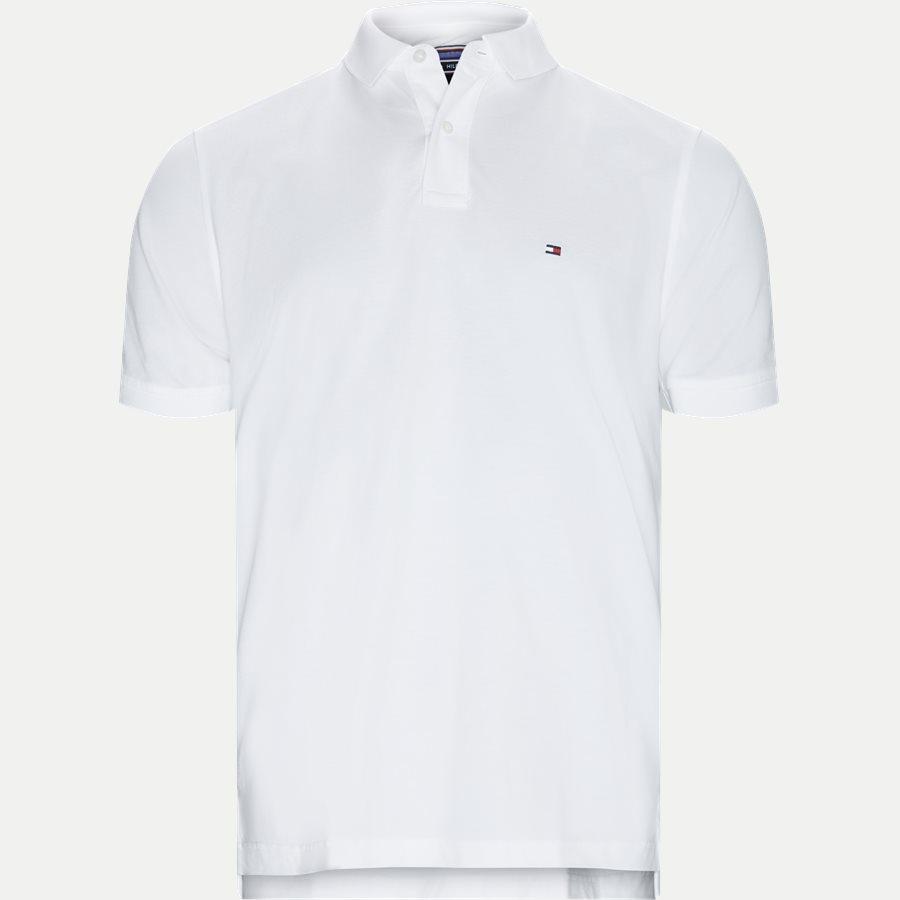 TOMMY REGULAR POLO - T-shirts - Regular - HVID - 1