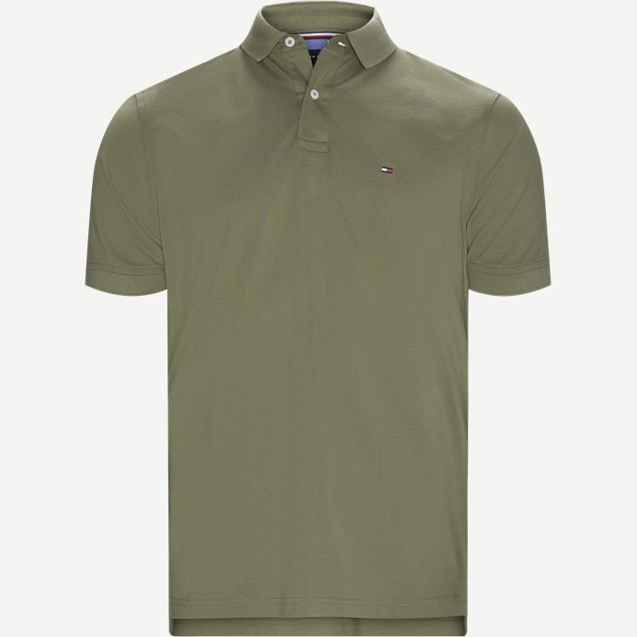Core Tommy Regular Polo - T-shirts - Regular - Army