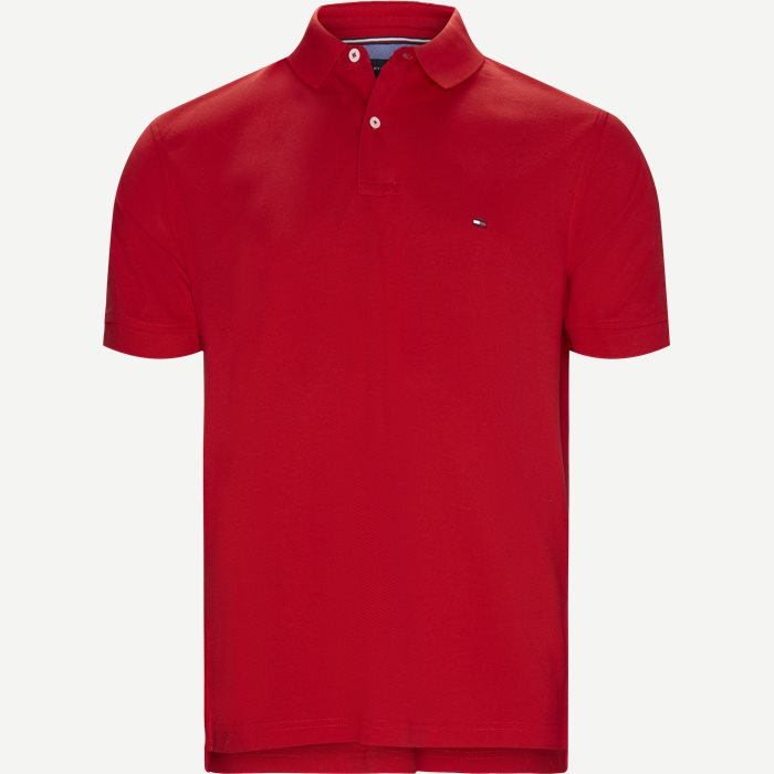 Core Tommy Regular Polo - T-shirts - Regular - Rød