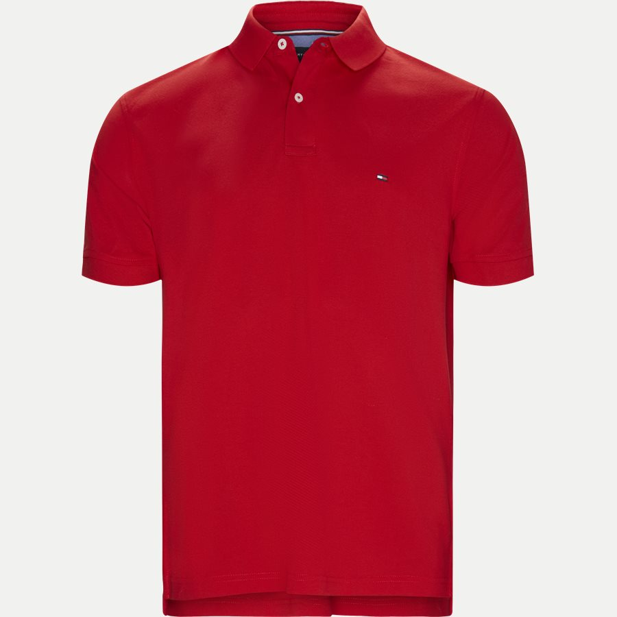 TOMMY REGULAR POLO - Core Tommy Regular Polo - T-shirts - Regular - RØD - 1