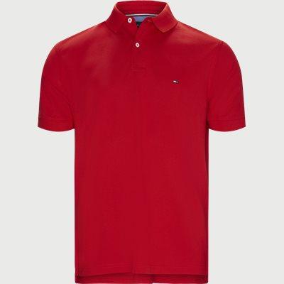 Core Tommy Regular Polo Regular | Core Tommy Regular Polo | Rød