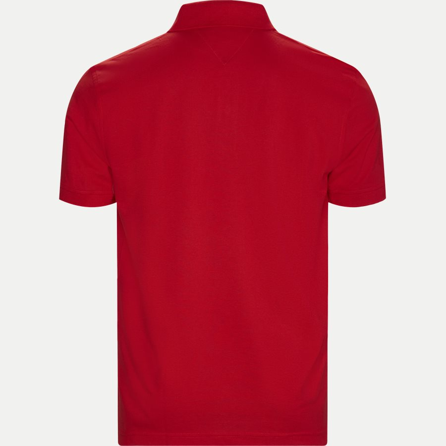 TOMMY REGULAR POLO - Core Tommy Regular Polo - T-shirts - Regular - RØD - 2