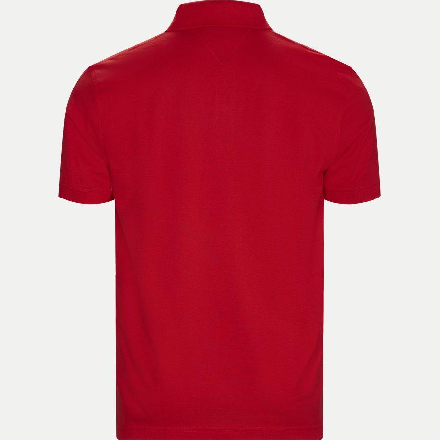 TOMMY REGULAR POLO - Core Tommy Regular Polo - T-shirts - Regular - RØD - 2